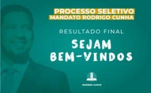 Aprovados no Processo Seletivo do gabinete do Senador Rodrigo Cunha
