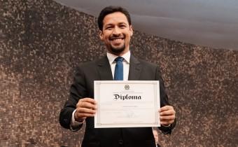 i 7 - Durante diplomação, Rodrigo Cunha relembra sua trajetória e diz que encontrou seu propósito de vida