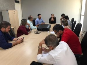 Após garantir recursos, Rodrigo Cunha discute com delegados detalhes da criação da primeira delegacia de combate à corrupção de Alagoas