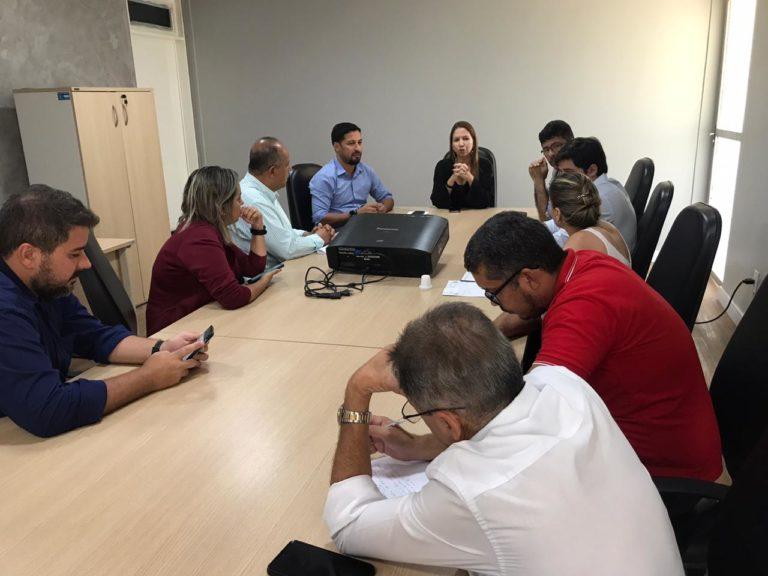 Delegacia 768x576 - Após garantir recursos, Rodrigo Cunha discute com delegados detalhes da criação da primeira delegacia de combate à corrupção de Alagoas